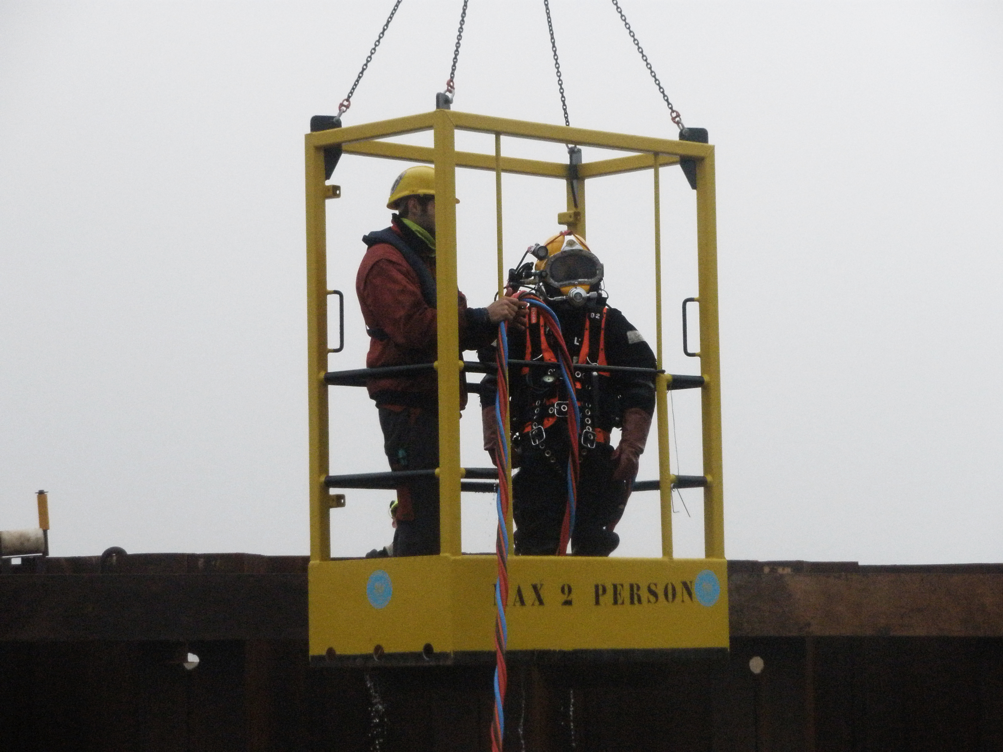 HSE-Q Diving operation